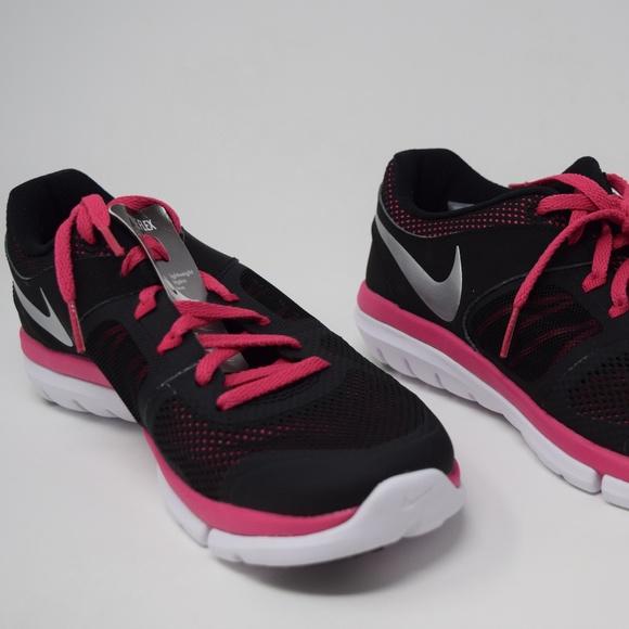bac8ab54ca1 Nike Flex 2014 Run Women s Black Pink 642767-002